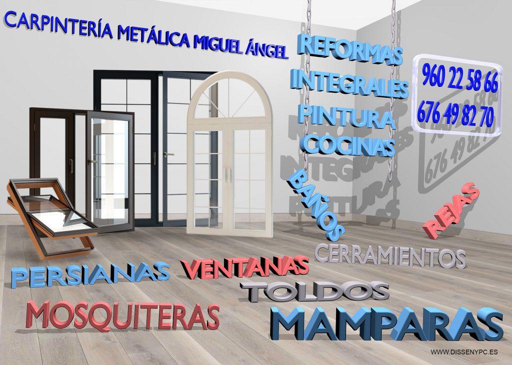 Cartel Carpintería Metálica 2